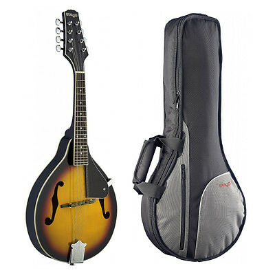 Stagg M20 Traditional Bluegrass Mandolin with matching Gig Bag