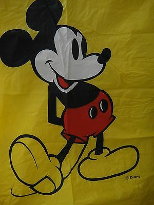 Vintage Disney Adult Mickey Mouse Poncho Yellow