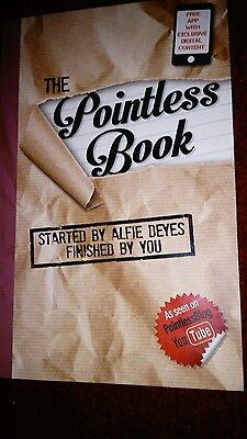 The Pointless Book: Started by Alfie Deyes, Finished by You by Alfie Deyes (Pap…