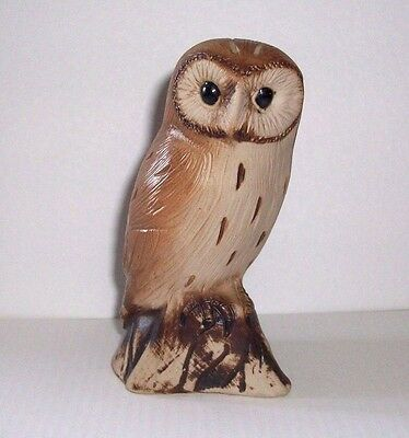 "Vintage Purbeck Pottery "" Owl 4"" Figure "" Beautiful Ornament/figurine"