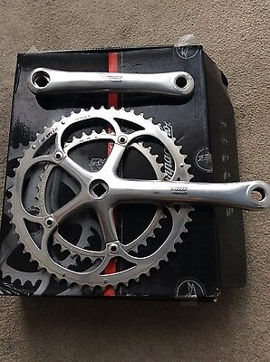 Campagnolo Record 10 speed  Sq tpr chainset 170mm 53/39
