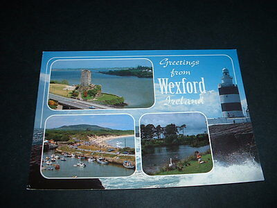 Ireland  Postcard  Greetings From Wexford
