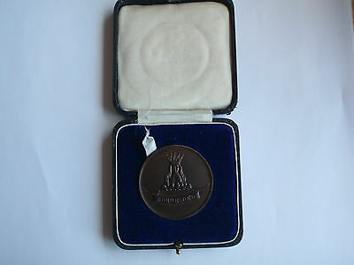 Boxed Collyers School Horsham Sussex Medal