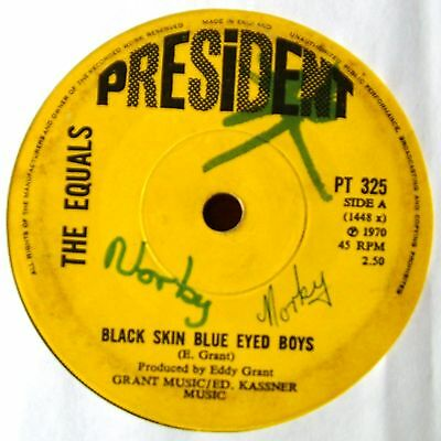 EQUALS - Black skin blue eyed boys / Ain't got nothing to give you