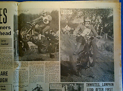 1967 Players Winternational Motocross Vic Eastwood BSA,Alf Hagon,Amal Concentric