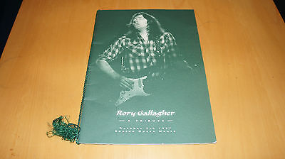 Rory Gallagher - A Tribute - October 5th 1997 Programme (Fanclub Promo)
