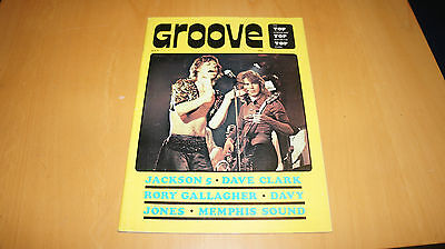 Rory Gallagher - Groove No.4 Magazine 1971