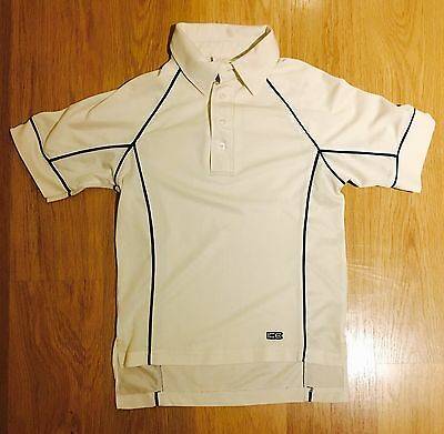 Boys Cricket Short Sleeved Top Whites By Gray-Nicola