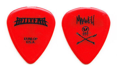 Hellyeah Tom Maxwell Signature Red Guitar Pick - 2014/2015 Tour