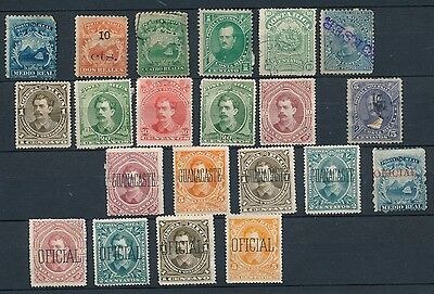 Costa Rica stamp collection early
