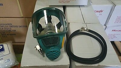 Promask Full Face Mask With Airline Hose And Carry Case