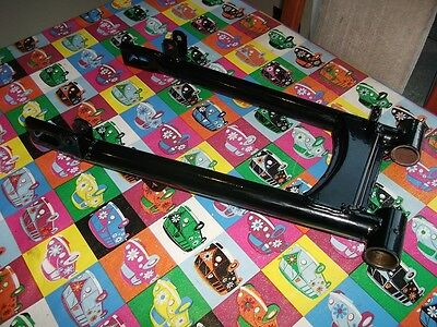 Triumph T140 750 swing swinging arm newly powdercoated exchange part,