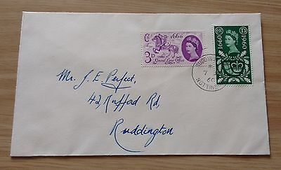 GB QEII 1960 General Letter Office Tercentenary FDC - Nottingham postmark
