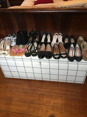 13 Pairs Of Ladies Shoes & Boots, Size 4, Next, Adidas, M&S Autograph