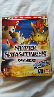 Super Smash Bros Melee official Strategy Guide Nintendo Gamecube