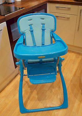 Mothercare 'anywhere' Folding High Chair - Excellent For Grandparents!