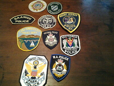 Police Patch Badges