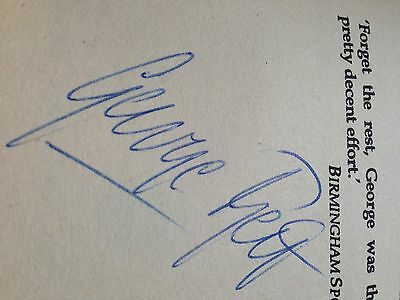 George Best Signed Book