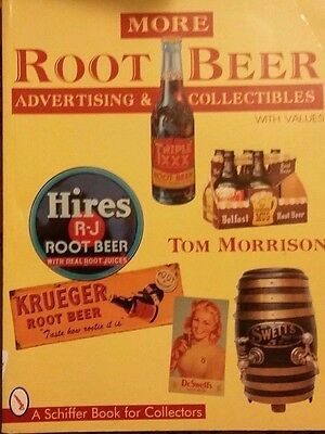 ANTIQUE ROOT BEER VALUE GUIDE COLLECTOR'S BOOK Bottle Sign Thermometer Dispenser