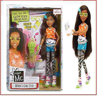 Project Mc2 Bryden's Glow Stick Core Doll with Experiment - New