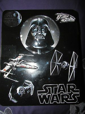 Brand New Star Wars Biscuit Tin Complete With Contents
