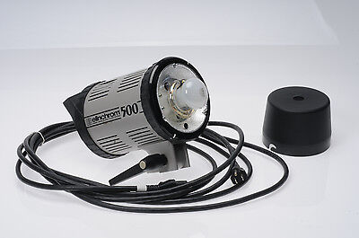 Elinchrom 500 Monolight Flash System w/Power                                #715