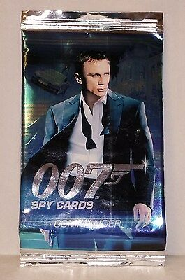 54 James Bond 007 Spy Cards. Includes 2 X Rare. All In Very Good Condition.