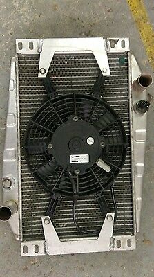 Caterham 7 Ally radiator and fan assembly  genuine Caterham