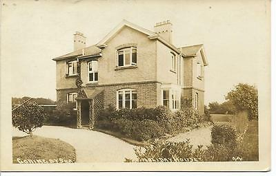 Vintage R/p Postcard 'holiday House,goring By Sea' Worthing,west Sussex 1916