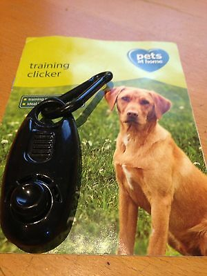 Training Clicker Dog Puppy With Guide Instructions Pets At Home