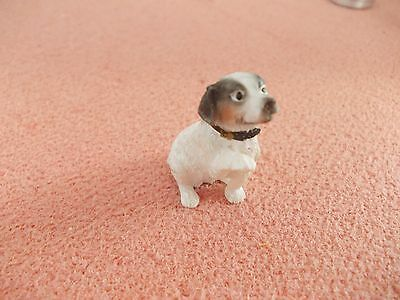 Sweet Little Jack Russell For A Dolls House