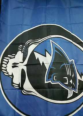 Grateful Dead inspired Flag Steal Your Face Panthers 3x5' Company Cats NC