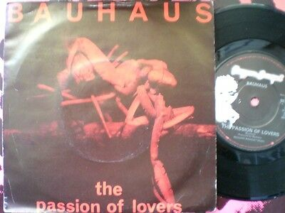 Punk / Goth - Bauhaus - The Passion Of Lovers - Picture Cover