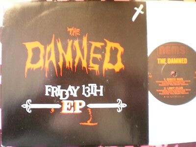 Punk - The Damned - Friday The 13Th Ep - Picture Cover