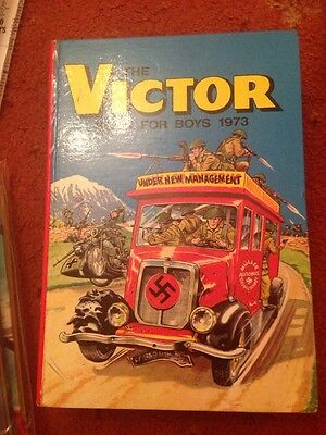THE VICTOR BOOK FOR BOYS ANNUAL 1973 - Excellent Condition