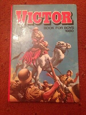 THE VICTOR BOOK FOR BOYS ANNUAL 1980 -l Excellent Condition