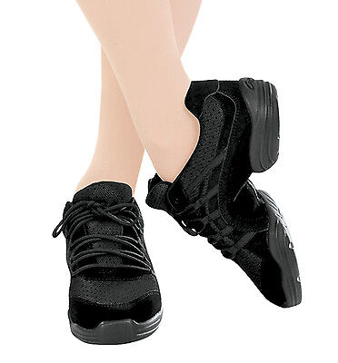 Capezio Rock IT Dance Sneaker DS24 Black NWT