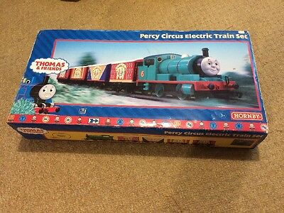 Hornby R9072 Boxed Percy Circus Electric Train Set