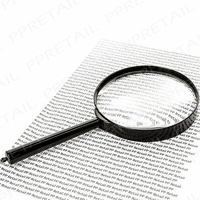 Large Magnifying Glass DETECTIVE PROP Fancy Dress Murder Mystery/Sherlock Holmes