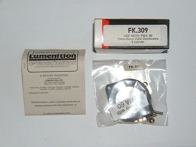 Lumenition Fitting Kit-Delco D300/302 Distributor-Vauxhall/Bedford Slant 4 OHC,