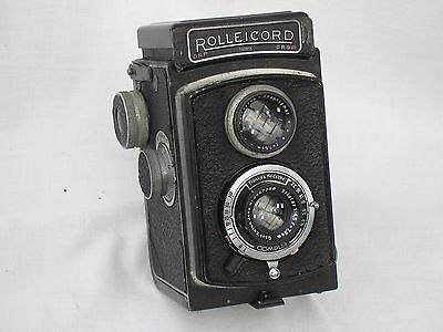 Rolleicord 1a, Triotar, 1-1/300th, all working, tested, case