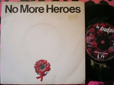 Punk - The Stranglers - No More Heroes - Picture Cover - Wreath Label