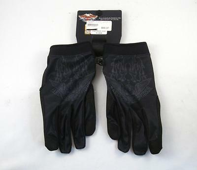 Harley Davidson Mens Crossfader Lightweight Gloves 97357-16Vm  3X-L  New W/ Tag