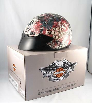 Harley Davidson Women Cat-Eye Half Helmet New W/ Box Medium 97351 16Vw