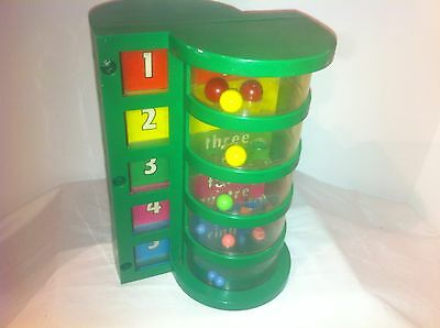 A Childs Guidance Toy, Counting, Math, Vintage Learning Toy, Numbers, Plastic