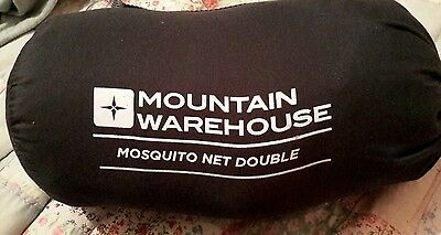 mountain warehouse double mosquito net, unused