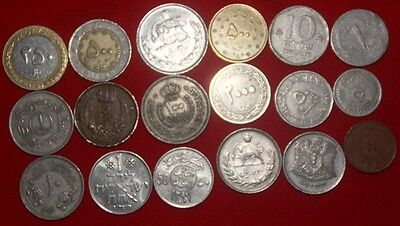 MIDDLE EAST - over 60 x Coin Mix