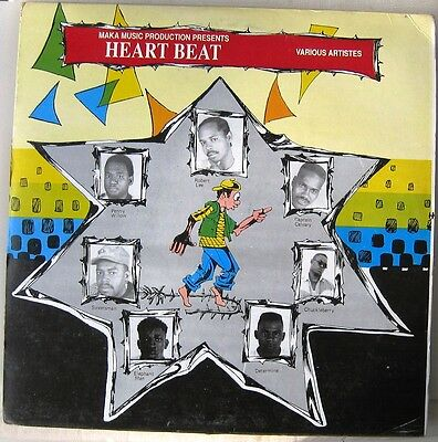 VARIOUS / HEART BEAT [MAKA] LP Limonious cover !