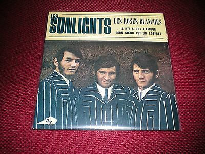 "7"" - Les Sunlights - Les Roses Blanches"