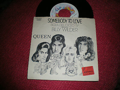"""7"""" - Queen - Somebody To Love - 1976"""
